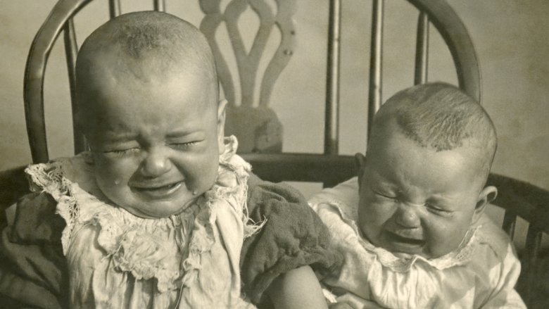 victorian babies crying