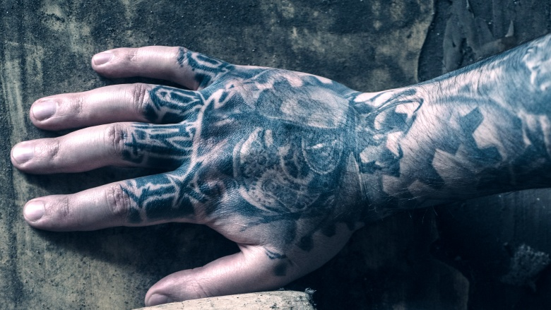 What happens to your body when you get a tattoo for Where on your body does a tattoo hurt the least