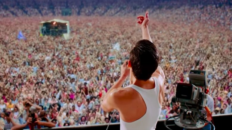Live Aid as depicted in Bohemian Rhapsody