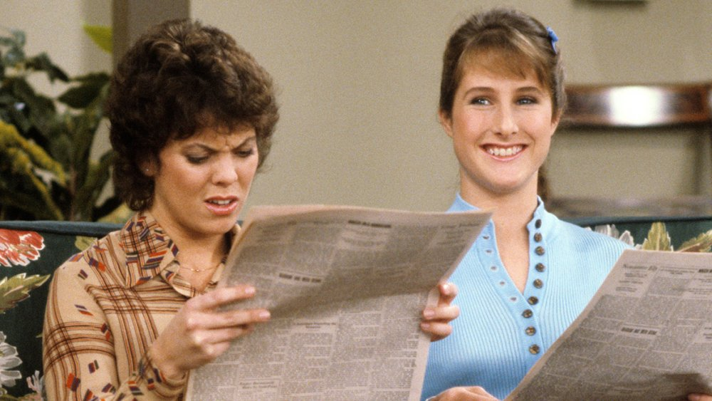 Erin Moran and Cathy Silvers