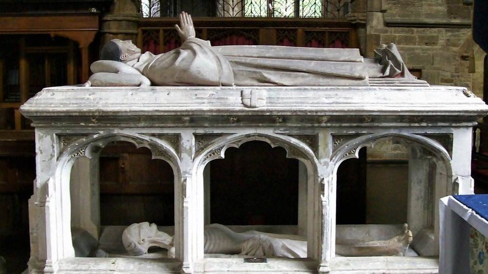 The cadaver tomb of Archdeacon Sponne