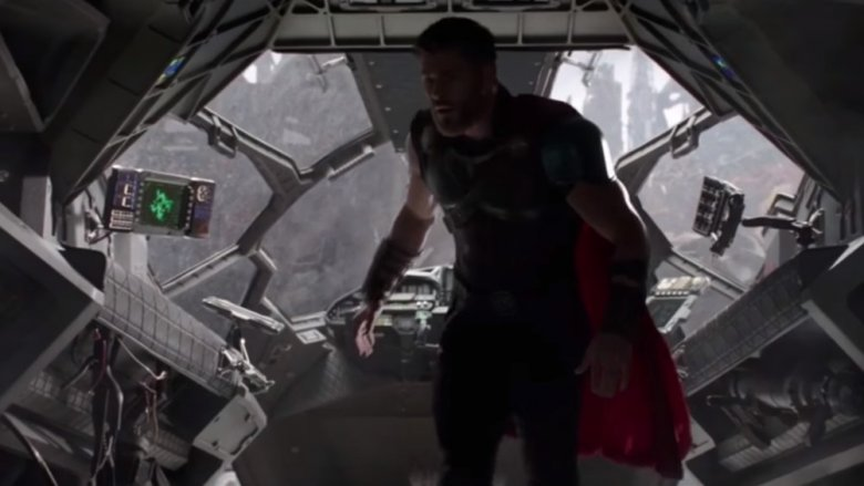 thor in quinjet