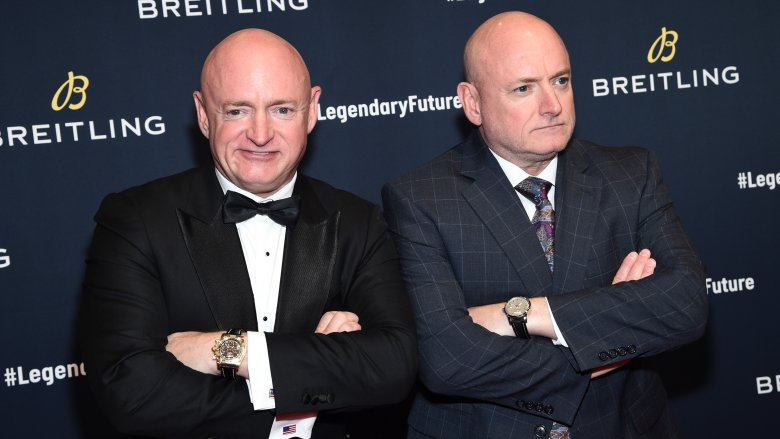 Scott kelly and Mark Kelly