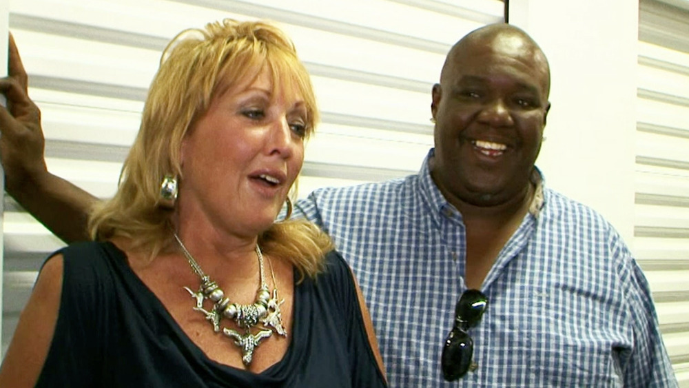 Lesa Lewis and Jerry Simpson smiling