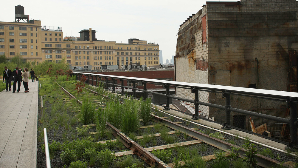 An abandoned railway in New York