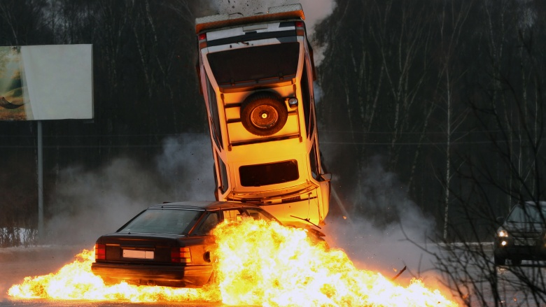 Most insane driver stunts of all time