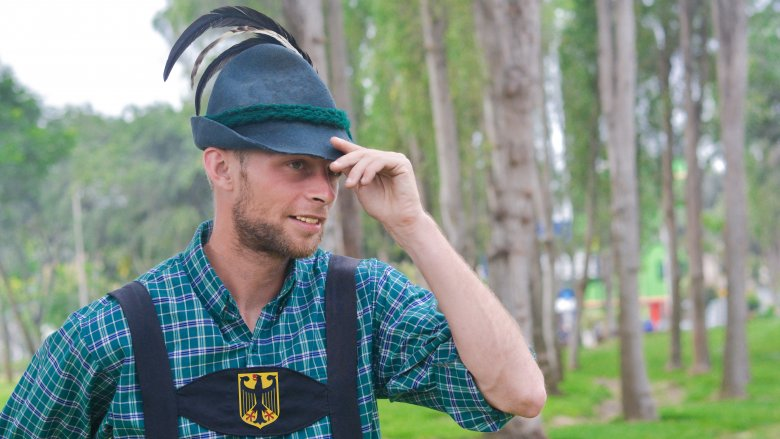 traditional bavarian man