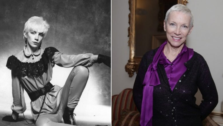 annie lennox then now
