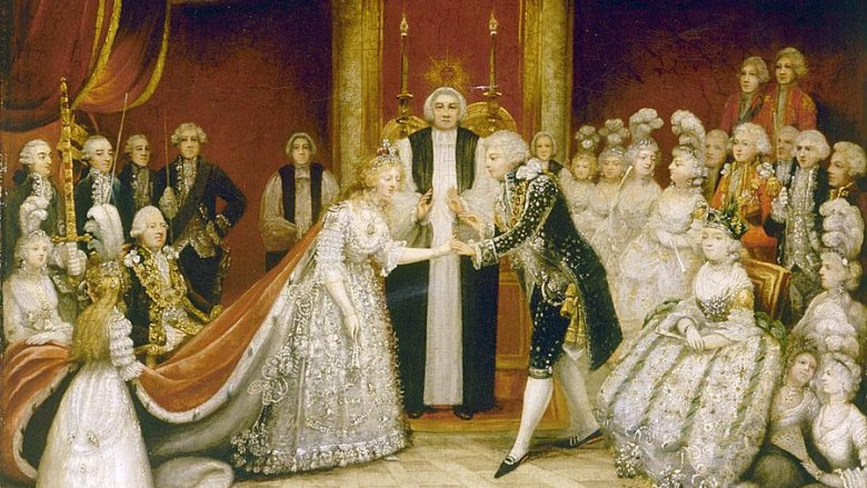 George IV, Caroline of Brunswick, wedding