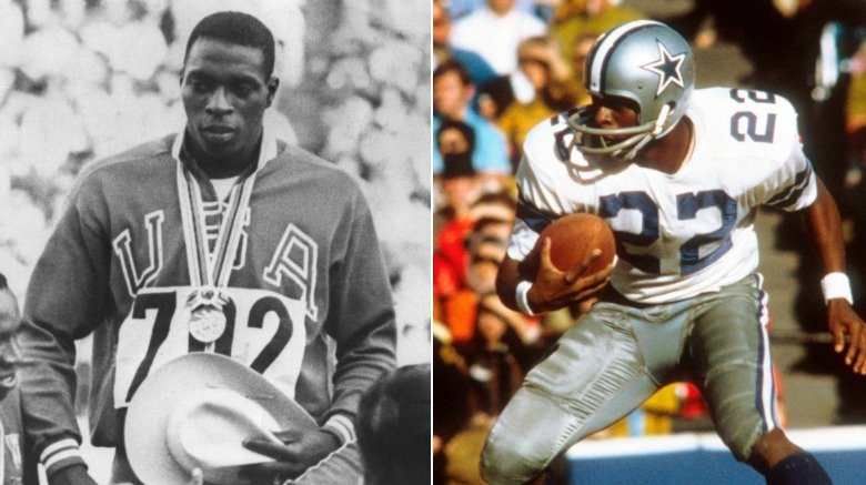 Bob Hayes Olympics and NFL
