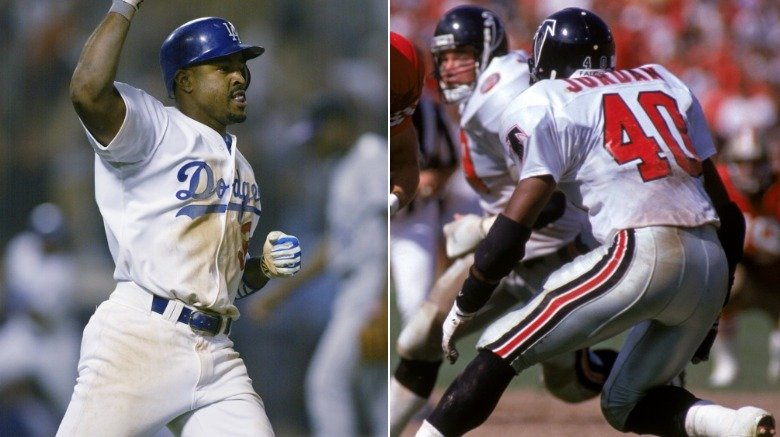 Brian Jordan in baseball and football