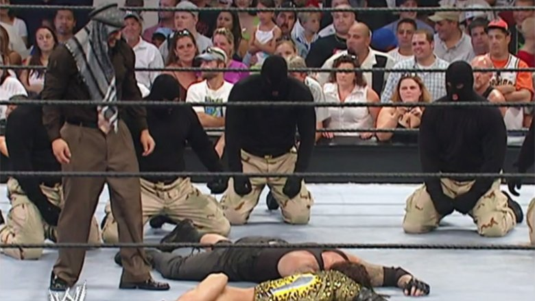Muhammad Hassan and the Undertaker