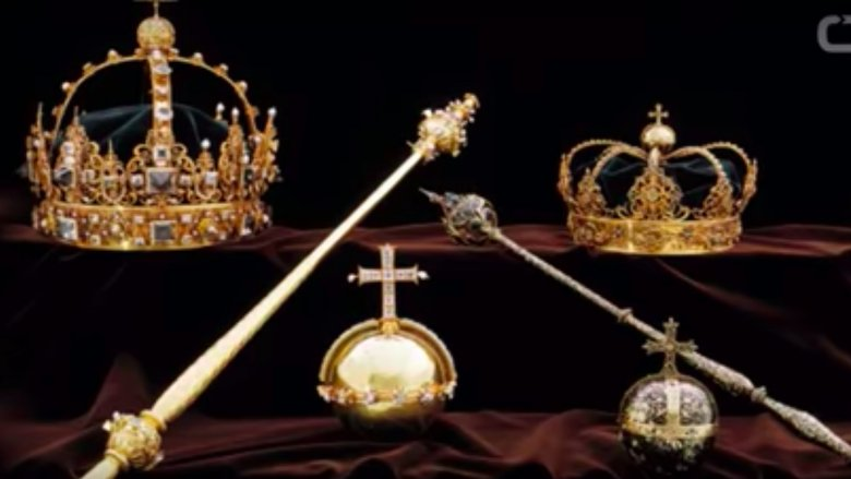 The Swedish crown jewels