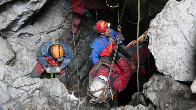 Johann westhauser cave rescue