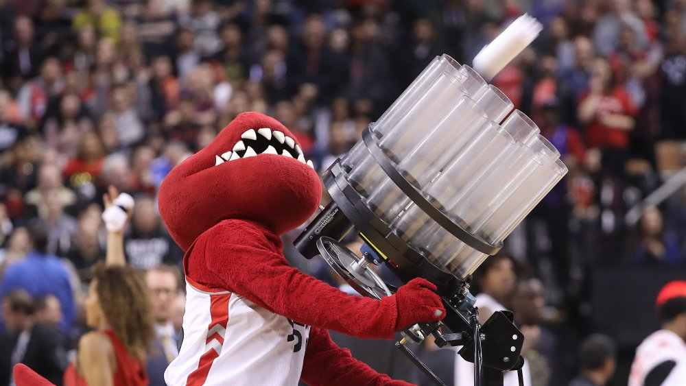 The surprising origin of the T-shirt cannon