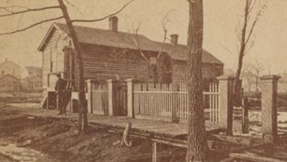 The O'Leary home in Chicago