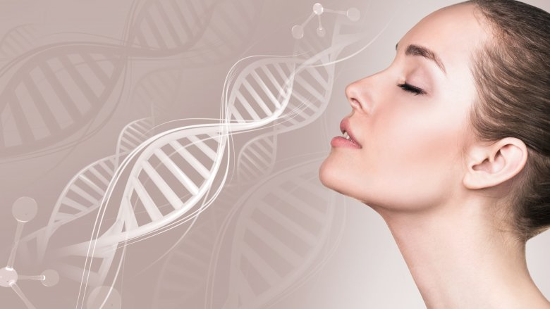 woman, dna