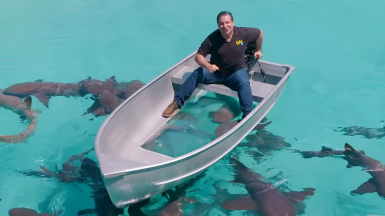 Phil Swift's boat