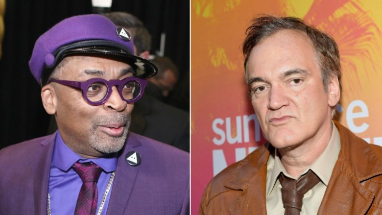 Spike Lee and Quentin Tarantino
