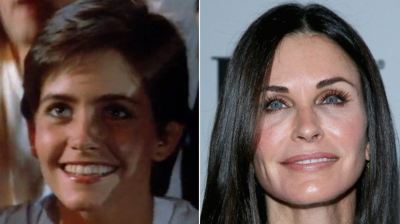 Courteney Cox in video and on red carpet