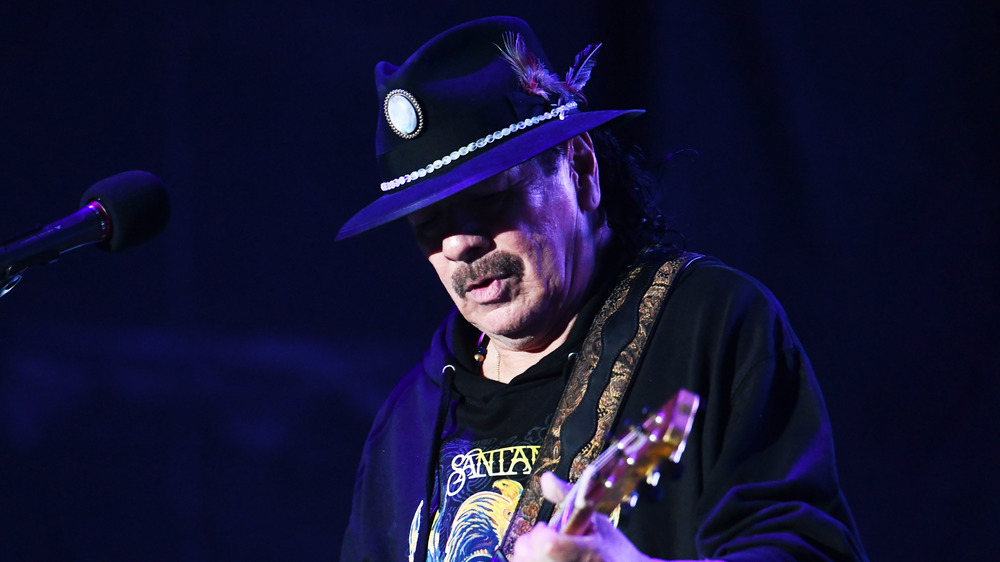 Why Carlos Santana couldn't record music for much of the '90s